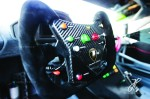 May 1-3. 2-15: Laguna Seca Lamborghini Super Trofeo. Huracan steering wheel